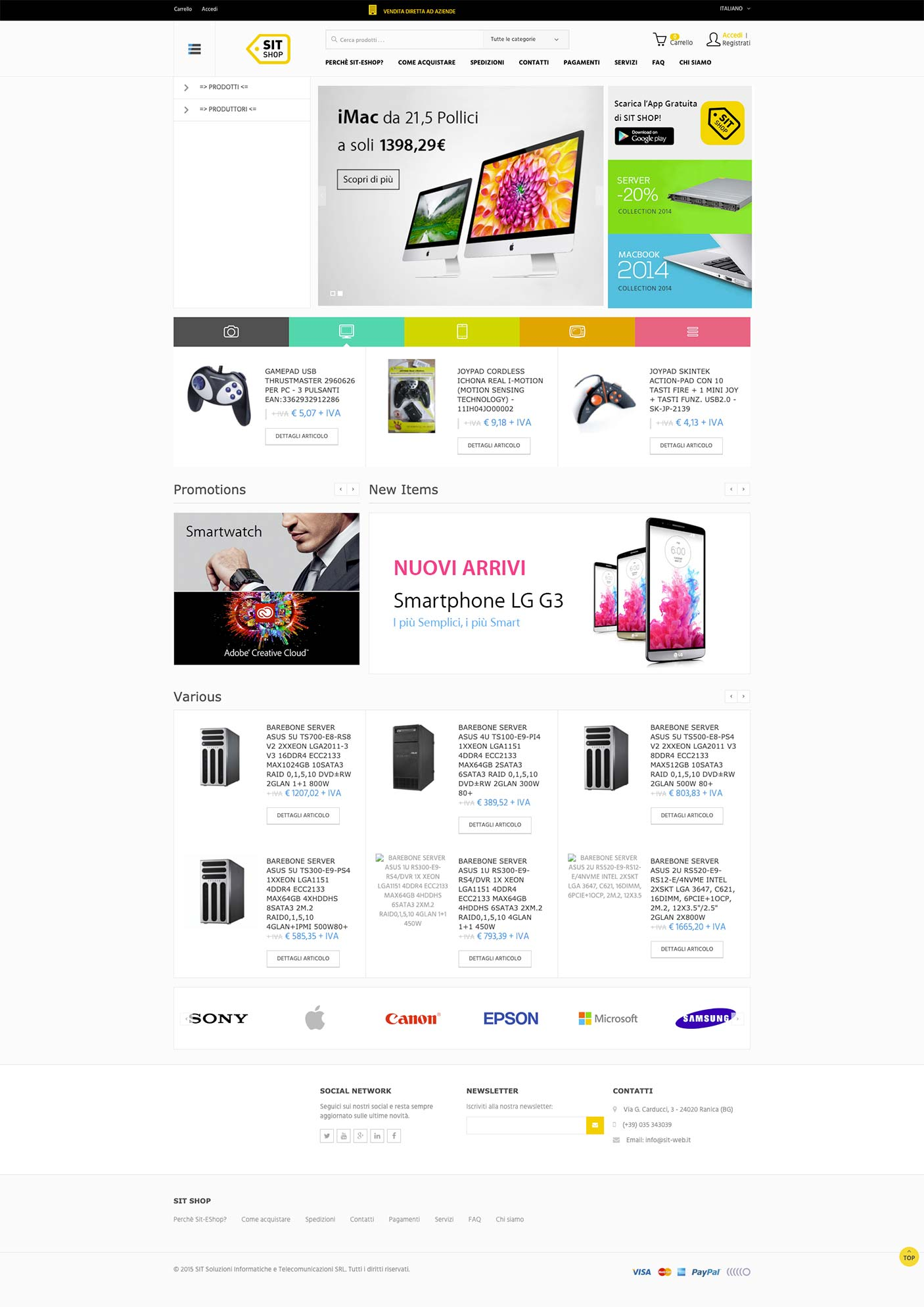 template-ecommerce-elettronica-responsive